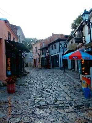 Pôvodná ulica v tureckom štýle