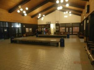 útulný interiér stanice v Šuranoch